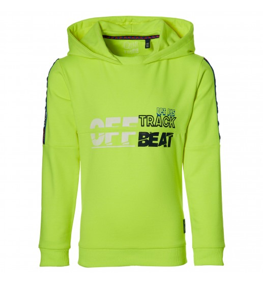 Quapi - Hooded sweater Danny - Lime Neon