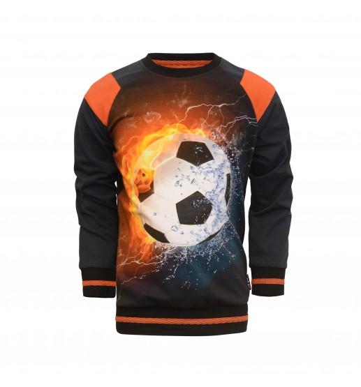 Legends22 - Raglan Sweater Sietse - Black / Dark Blue