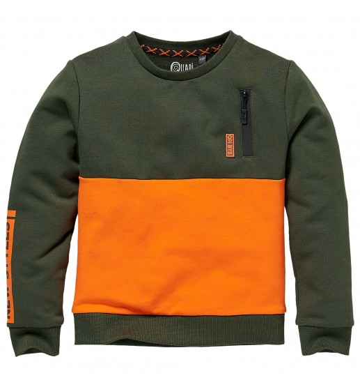 Quapi - Sweater Kenan - Dark Green